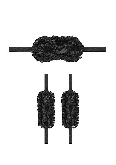 Shots Ouch Introductory Bondage Kit No 7 Black OU370BLK 8714273503992 Detail
