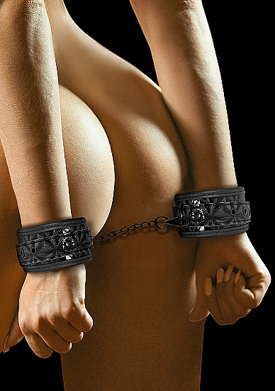 Shots Ouch Luxury Handcuffs Black OU341BLK 8714273525239 Model Detail