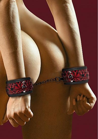 Shots Ouch Luxury Handcuffs Burgundy OU341BUR 8714273928610 Model Detail