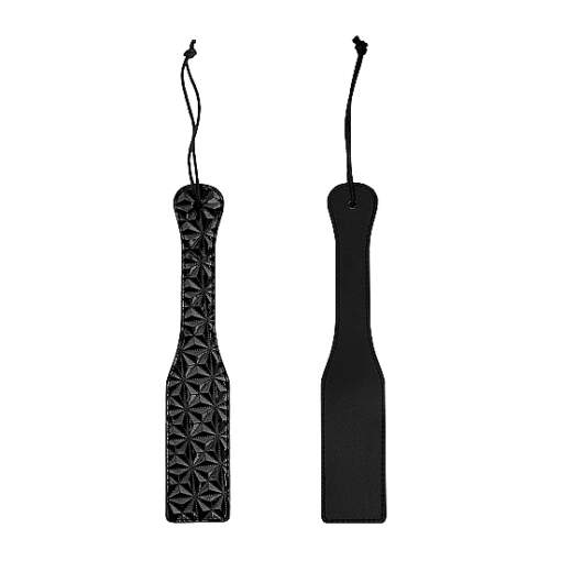 Shots Toys Ouch Luxury Paddle Black OU346BLK 8714273525284 Multiview