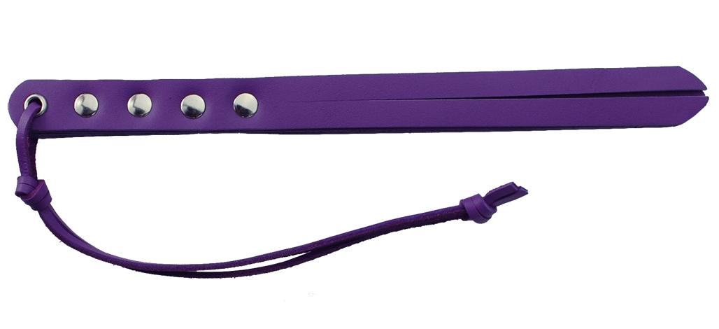 Spartacus Crave 10 Inch Mini Strap Whip Purple Violet BSPL 04CP 669729040249 Detail