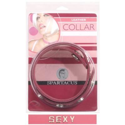 Spartacus Leather Word Collar Sexy Word Collar Pink BWB-B12K 669729701249`