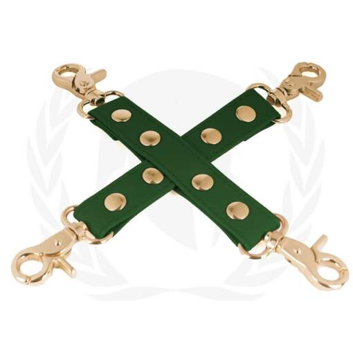 Spartacus Vegan Fetish Hogtie Green SPU 506GR 669729000328 Detail