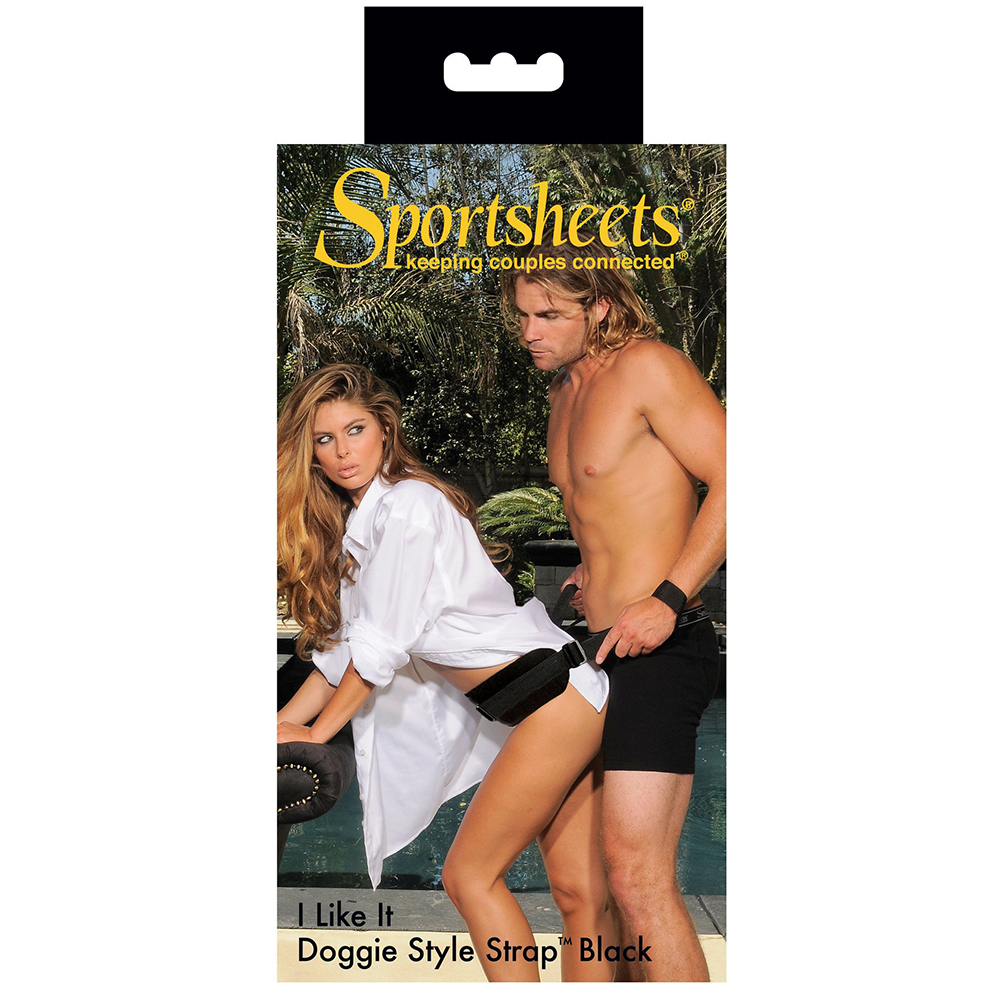 Sportsheets I Like It Doggie Style Strap Black SS41201 646709412012