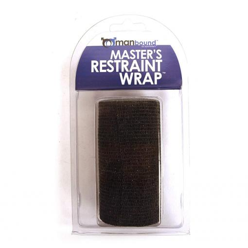 Sportsheets Manbound Masters Restraint Wrap 22ft Black SS950 87 646709950873 Boxview