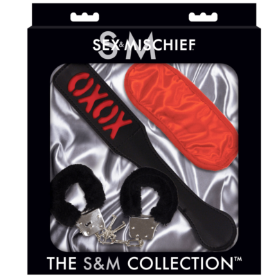 Sportsheets Sex and Mischief The S and M Collection Sweet Punishment Couples Kit SS10087 646709100872 Boxview
