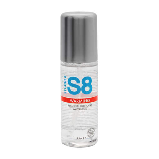Stimul8 S8 Water based Warming Lubricant 125ml 97397 8713221819659