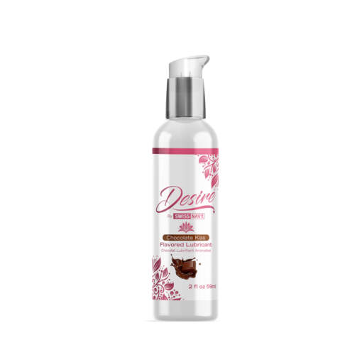 Swiss Navy Desire Chocolate Kiss Flavoured Lubricant 59ml SN DES CK 699439005351 Boxview