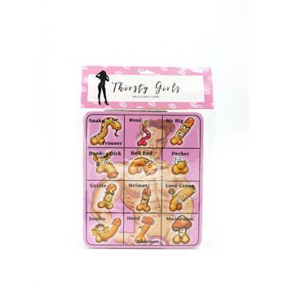 Thirsty Girls Willy Bingo Game TG005 9354434000497 Detail