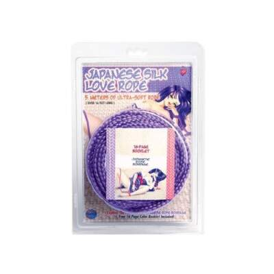 Topco Japanese Bondage Rope 5 metre Purple 1014426 051021144266