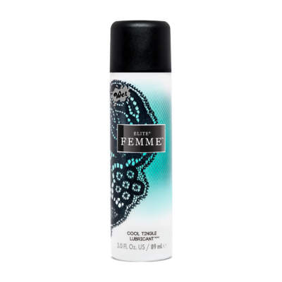 WET Elite Femme Cool Tingle Water Silicone Blended Lubricant 89ml 20791 716222207911