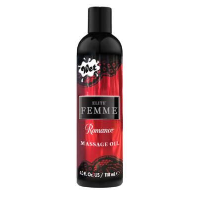 WET Elite Femme Romance Massage Oil 4oz 118ml 28750 716222287500 Detail