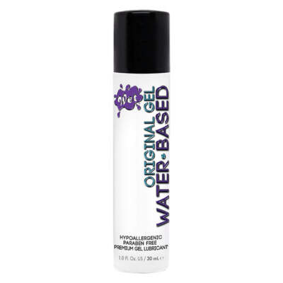 WET Original Gel Water based Lubricant 30ml 716222203333 Detail
