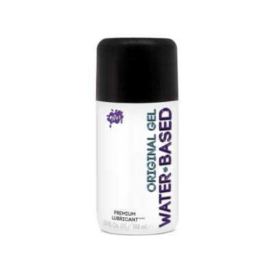 WET Original Water Based Gel Lubricant 148ml 716222203470 Boxview