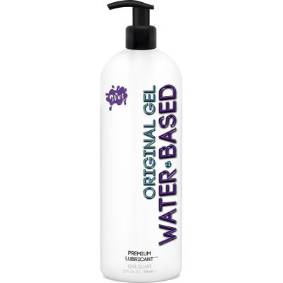 WET Original Water Based Gel Lubricant 946ml 716222203203 Boxview