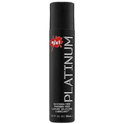 WET Platinum Silicone Lubricant 30ml 716222207164 Detail