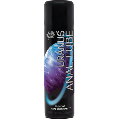WET URANUS Silicone Anal Lubricant 89ml 716222350006 Boxview