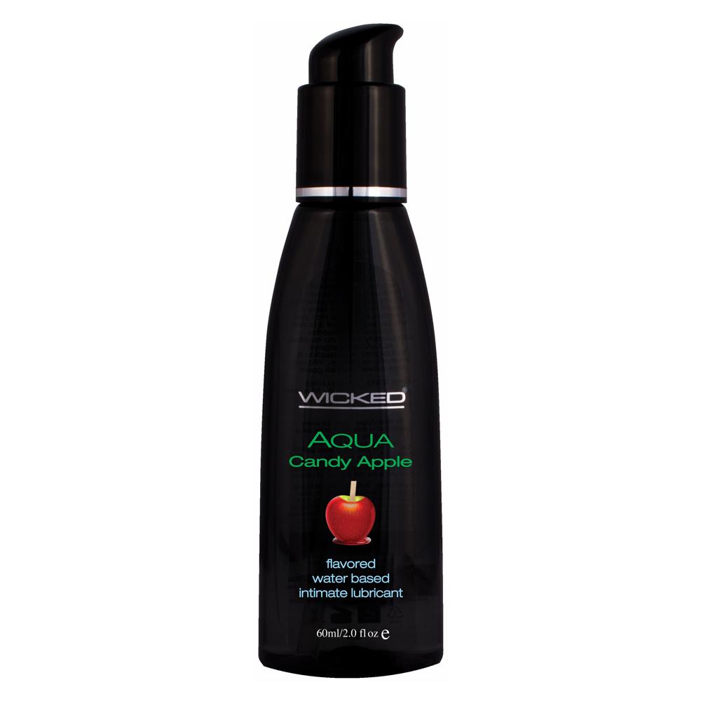Wicked Aqua Candy Apple Lubricant 2oz 60ml 713079904024