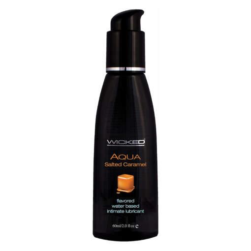 Wicked Aqua Salted Caramel Lubricant 2oz 60ml 713079903225