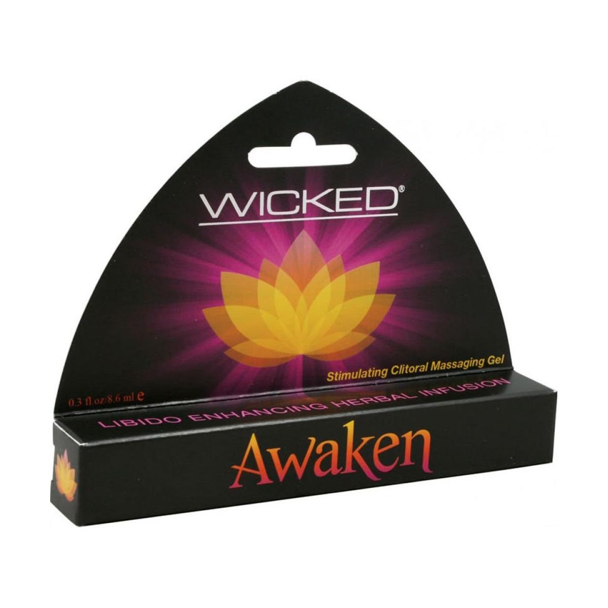 Wicked Awaken Stimulating Clitoral Massage Gel 713079908053