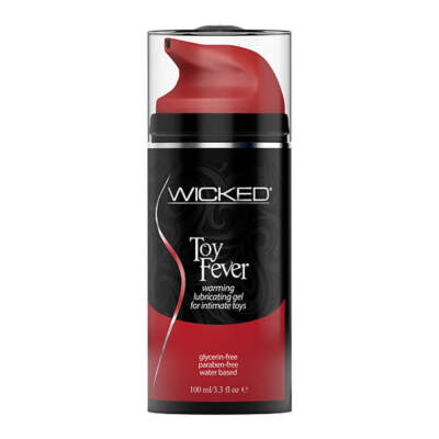 Wicked Toy Fever Warming Waterbased Lubricant 90223 713079902236