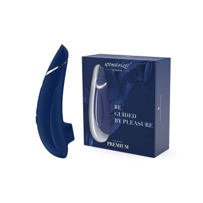 Womanizer Premium Pleasure Air Clitoral Stimulator Blueberry WZ09BY0100 4251460600774 Multiview