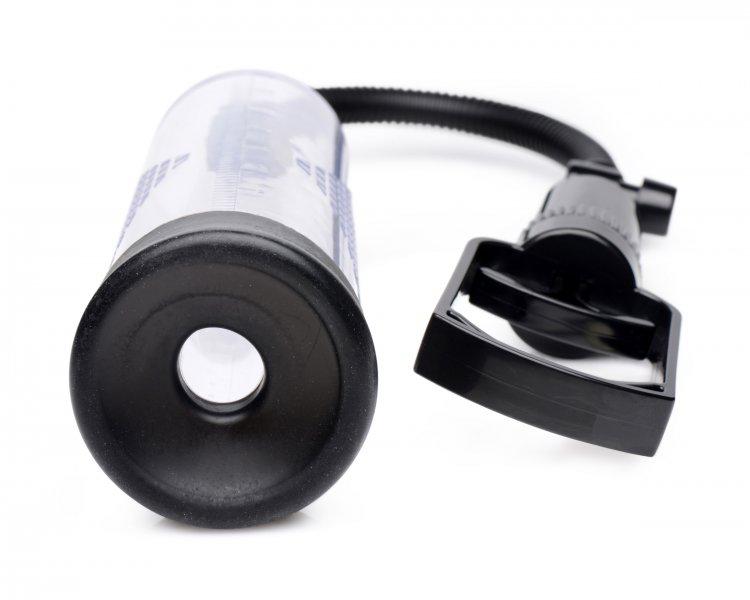 XR Brands Size Matters Trigger Penis Pump 8 Inch AG224 848518034120 Sleeve Detail