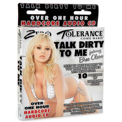 ZE-TD-4471-2 - Bree Olson Talk Dirty to me Audio CD