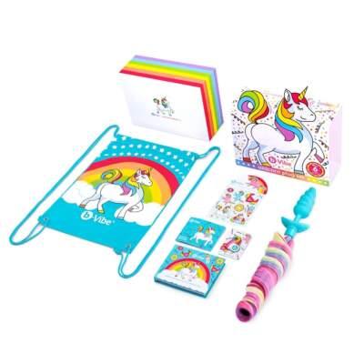 b Vibe Unicorn Plug Set Multicoloured Blue BV028 4890808240847 Content Detail
