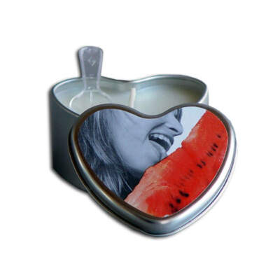 Earthly Body edible watermelon massage candle