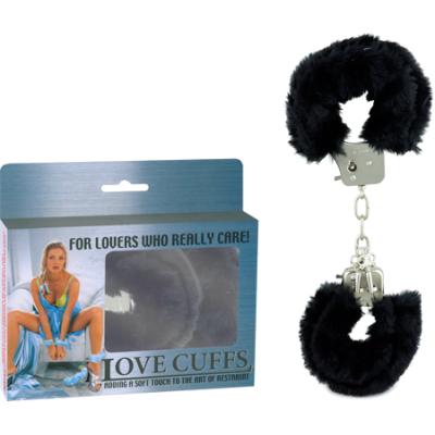 2N108P/BK - Love Cuffs (Black) - 4892503058314
