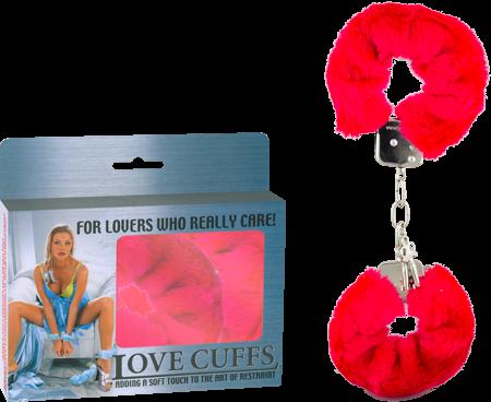 2N108P/RD - Love Cuffs (Red) - 4892503058369