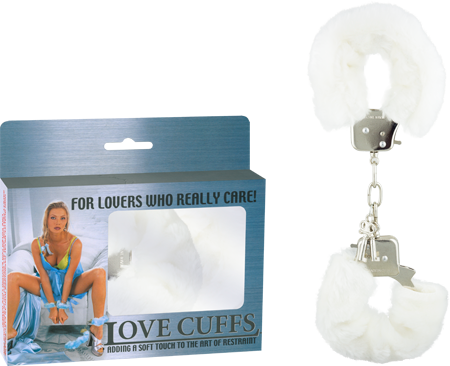 2N108P/W - Love Cuffs (White) - 4892503058406