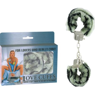2N108P/Z - Love Cuffs (Zebra) - 4892503058420