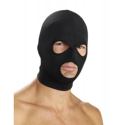 Spandex Hood With Eye And Mouth Holes (Black ) - AD689 - 848518012739