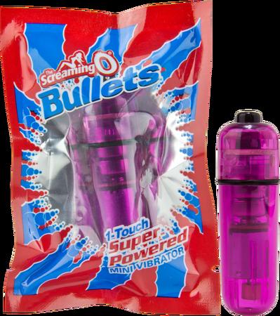 BUL-101PU - Screaming O Bullet (Lavender) - 854885001962