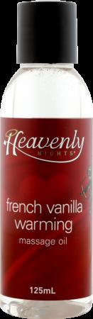 HNWM-12 - Warming Massage Oil (French Vanilla) - 9327068012594