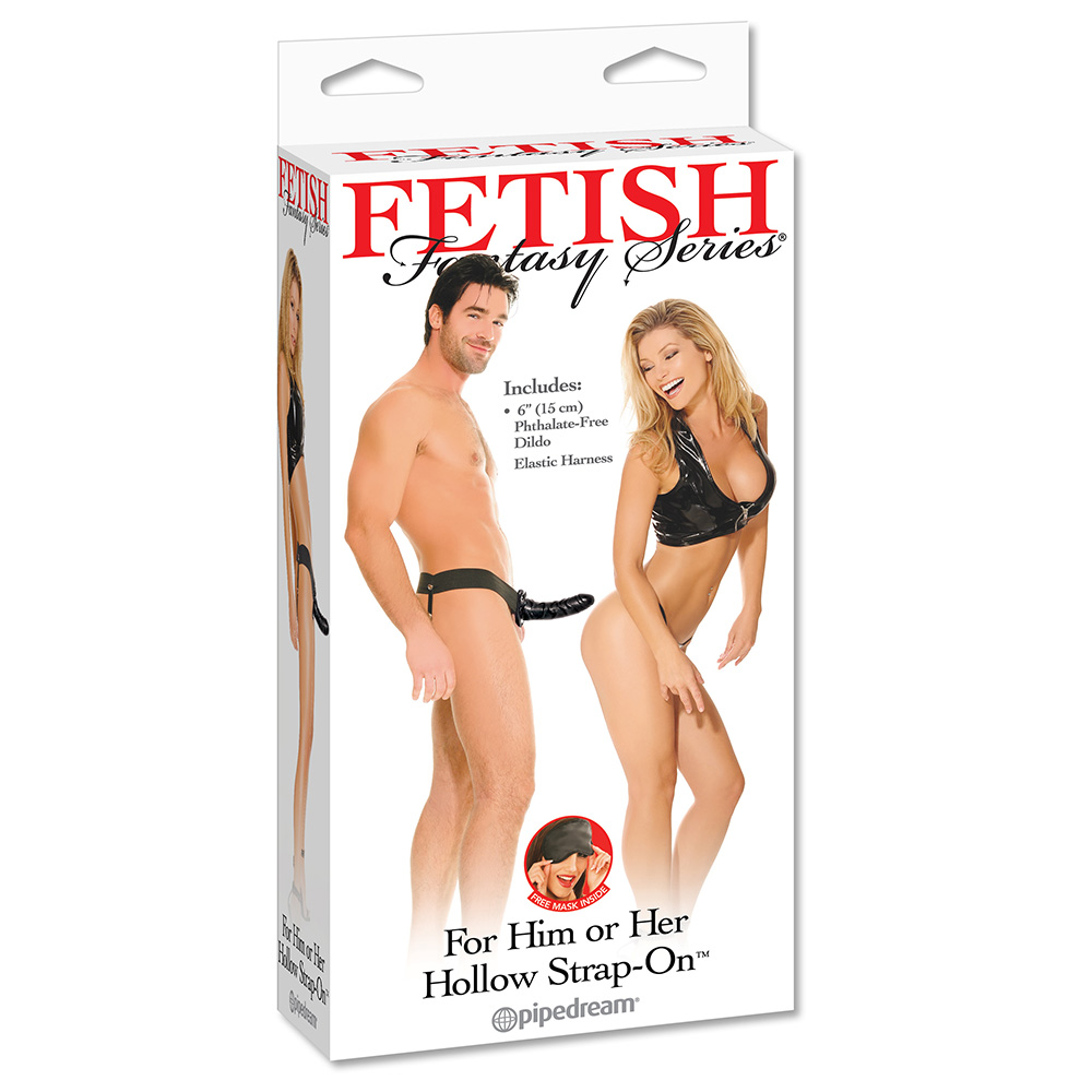 FFS For Him or Her Hollow Strap-On - Black - PD3366-23 - 603912160369